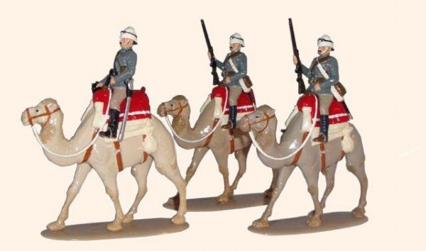 095 Toy Soldiers Set Guards Camel Corp