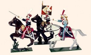701 Toy Soldiers Set Polish Lancers
