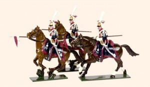 702 Toy Soldiers Set Polish Lancers