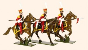 704 Toy Soldiers Set Dutch Lancers