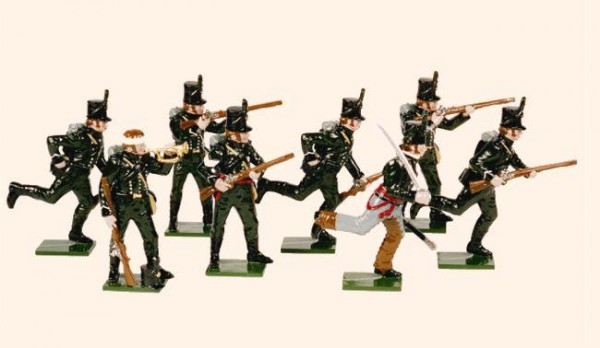 705 Toy Soldiers Set The 95th Rifles