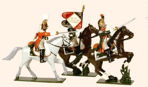 711 Toy Soldiers Set French Line Dragoons