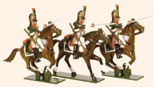 712 Toy Soldiers Set French Line Dragoons