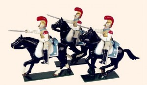 745 Toy Soldiers Set French Carabiniers