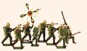 810 Toy Soldiers Set German Infantry