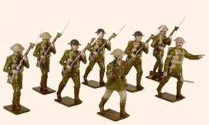 814 Toy Soldiers Set British Infantry