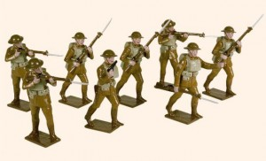 815 Toy Soldiers Set United States Infantry