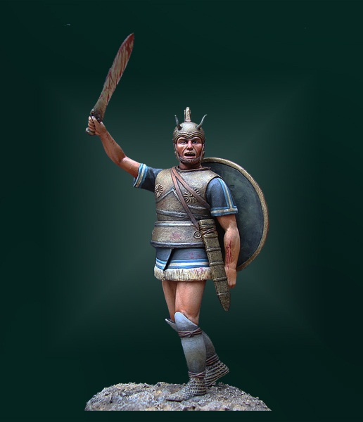 TR75-05   Greek Warrior, XII c. B.C.