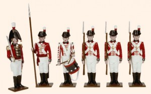 075 Toy Soldiers Set The Royal Marines