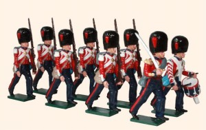 111 Coldstream Guards Marching