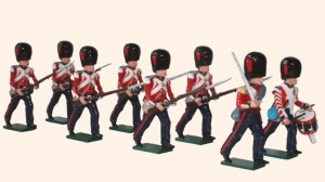 112 Coldstream Guards Advancing
