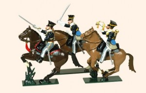 113 Toy Soldiers Set 17th Lancers