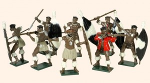 402 Zulus Married Regiments