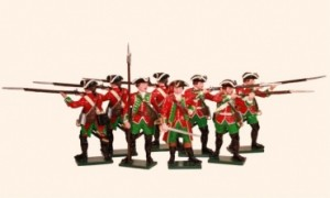 600SE6 51st Brudenells. Regiment of Foot c.1759 Minden