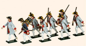 624 French Infantry Guyenne Regiment