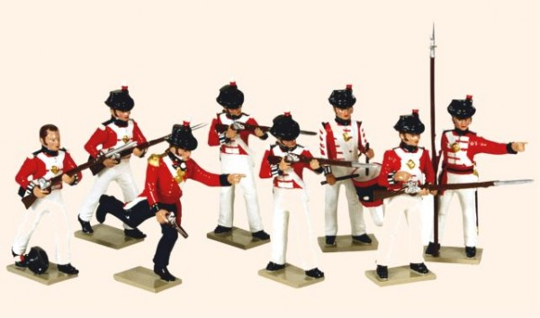 751 Toy Soldiers Set The Royal Marines