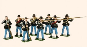 904 Toy Soldiers Set Union Infantry