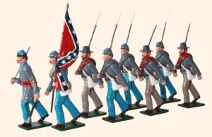 910 Confederate Infantry
