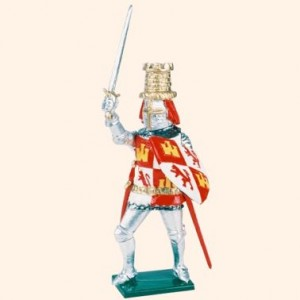 K22 Toy Soldier Set King Pedro of Castille