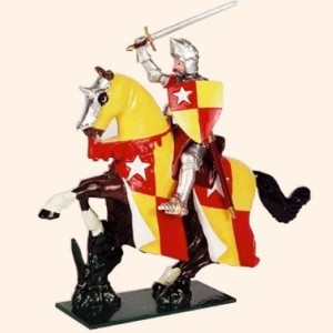 MK01 Toy Soldier Set Richard de Vere Earl of Oxford