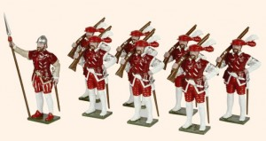 MR1 English Arquebusiers Henry VIII's Army