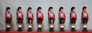 WB 40195 Hollowcast 1815 Highland Infantry