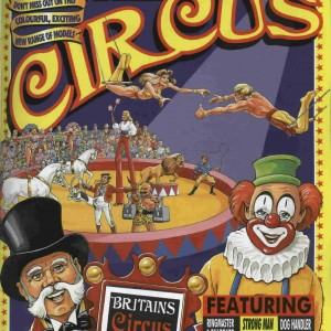Britains Circus 8665 Limited Edition Diorama Set (2)