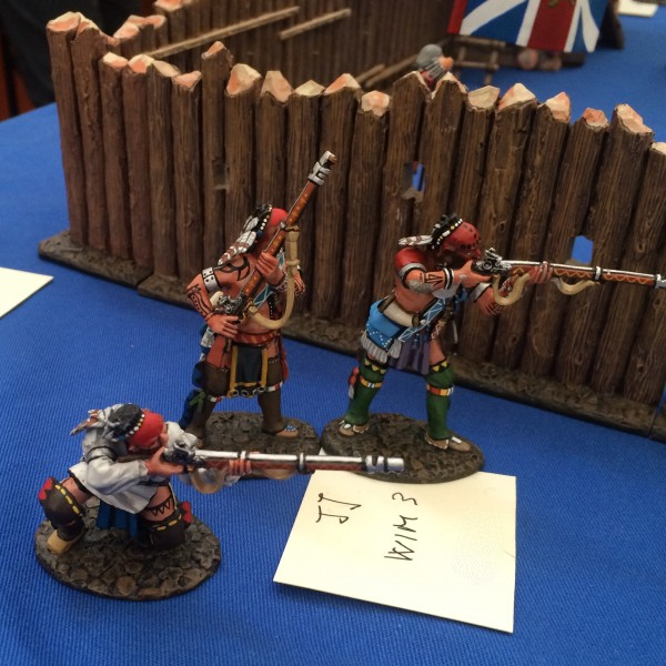 JOHN JENKINS DESIGN WIM-03 Woodland Indians with muskets, Skirmishing